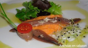 anchoas en salazon